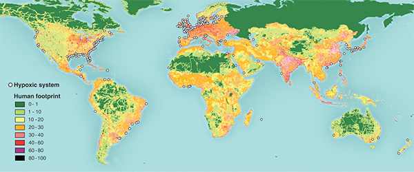 World Map Of Estuary Locations | Best | Free |